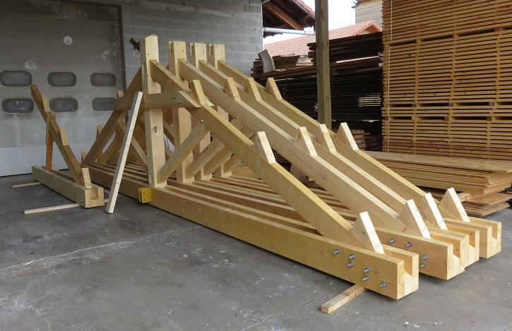 EC Usson charpente bois couverture tuiles 1