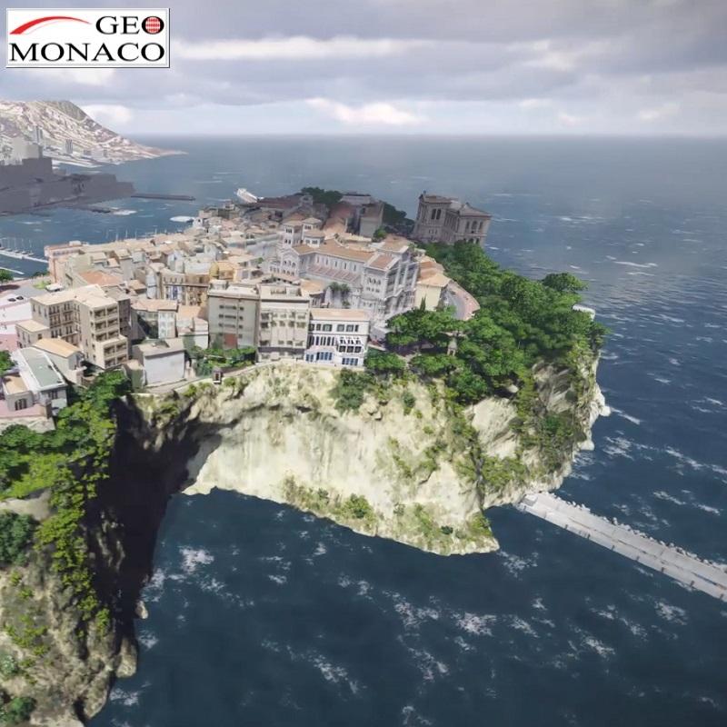 Monaco en 3D : La ville numérique