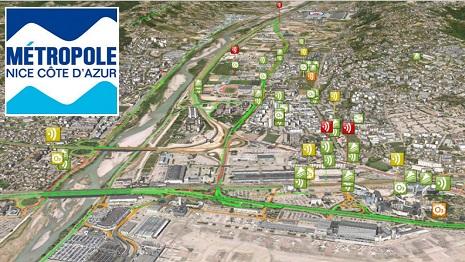 Nice, 4ème Smart City au monde utilise la 3D d'IGO