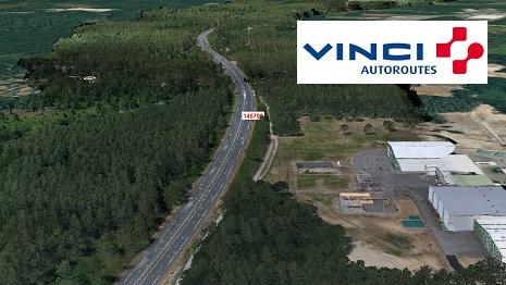 Cas d'usage de la 3D pour les opérations d'aménagement des autoroutes