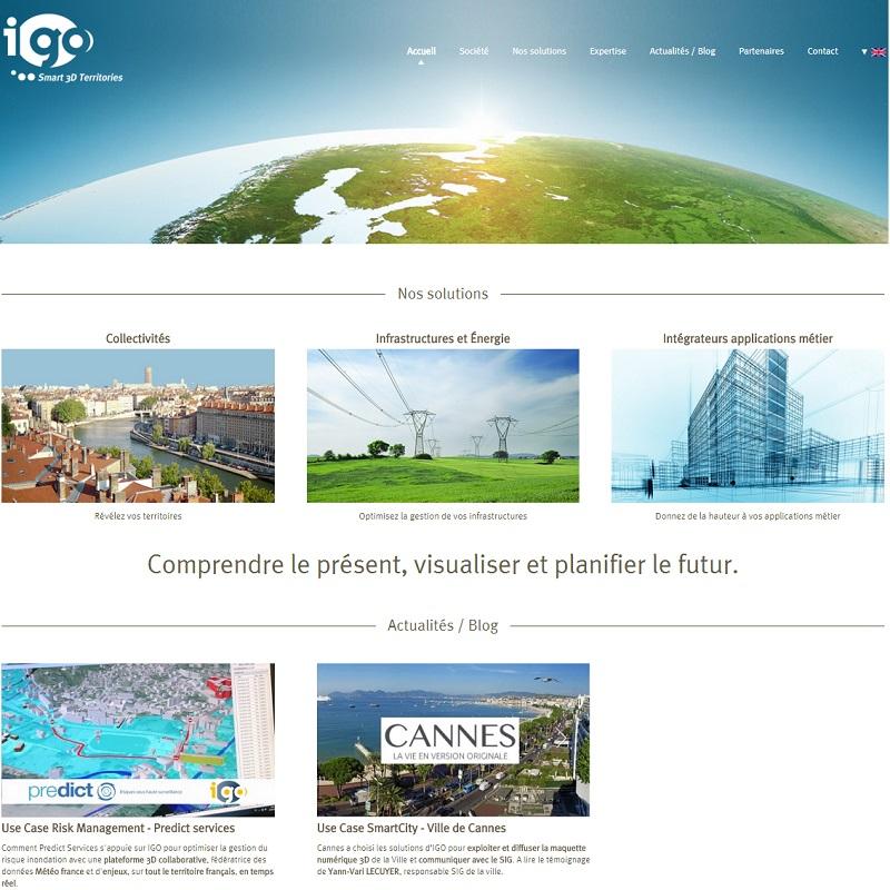 Le site Web d'IGO fait peau neuve !