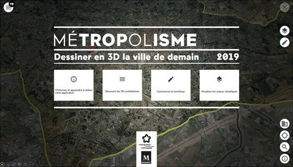 Montpellier, Métropolisme 'Dessiner la ville de demain face aux enjeux climatiques essentiels'