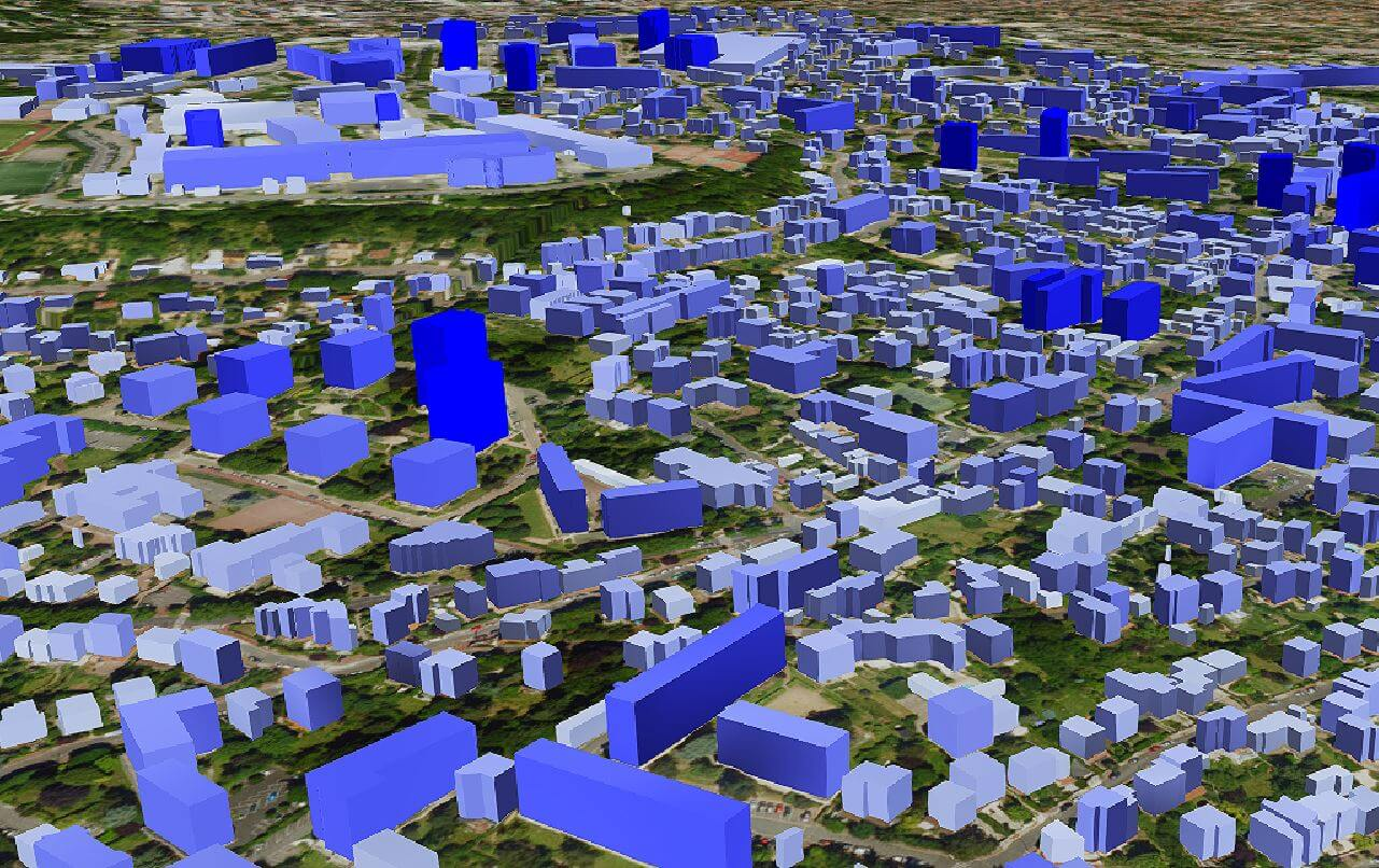 Technologie 3D Opensource Cesium et Three.Js