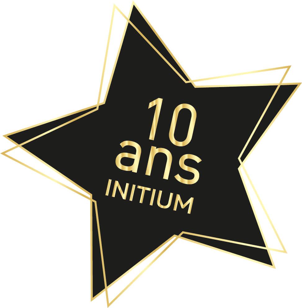 INITIUM fêtera ses 10 ans le 27 décembre 2017 !!!