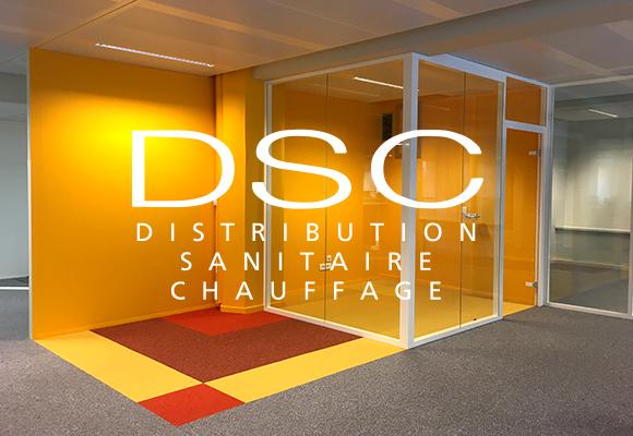 Aménagement d'espace « new génération » chez DSC
