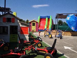 piste de kart pour les enfants