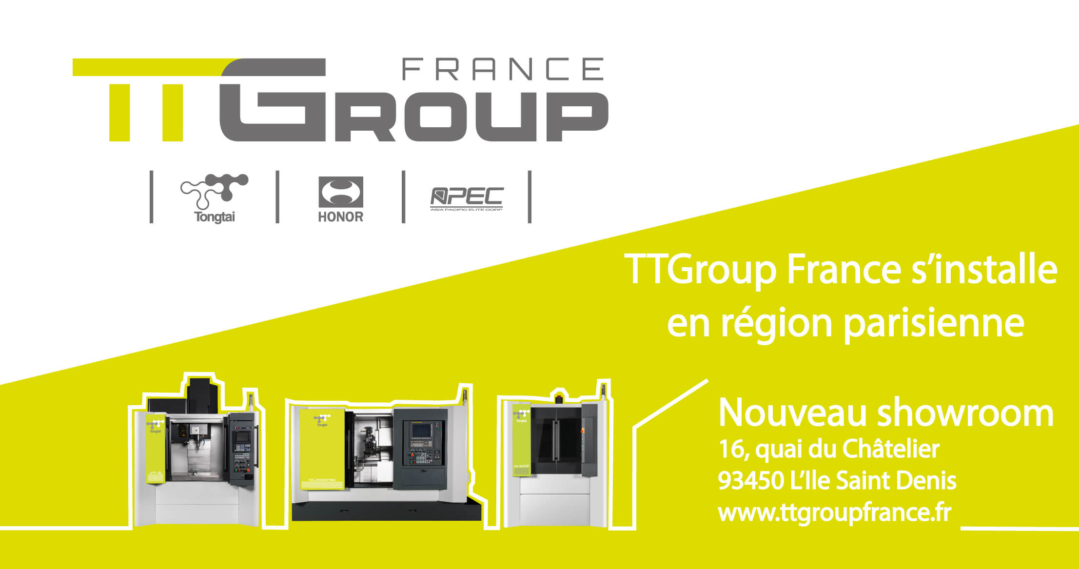 Nouveau Showroom TTGF